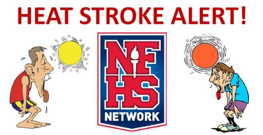 NFHS Heat Stroke Alert Memo
