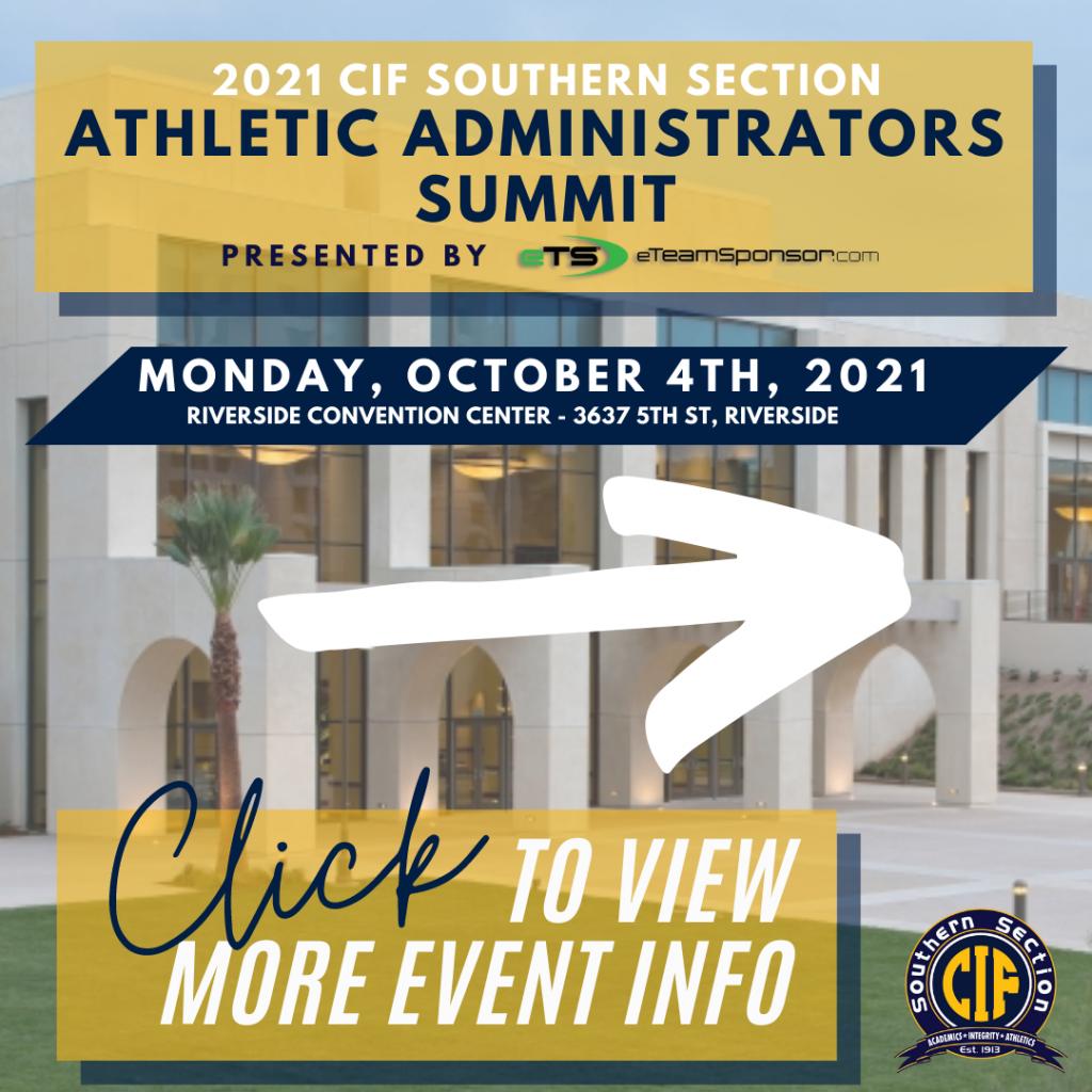 2021 Athletic Administrator's Summit Presented by eTeamSponsor